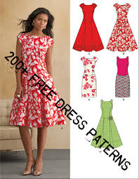 Dress Patterns Free Impressive 48 Free Dress Patterns We Know How To Do It