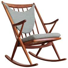 Rocking Chair Modern frank reenskaug danish modern teak rocking chair at 1stdibs 5586 by uwakikaiketsu.us