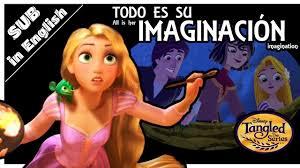 todo es imaginación de rapunzel tangled enredados teorÍa