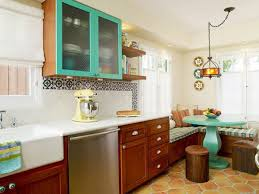 Painted Kitchen Floor Painted Kitchen Shelves Pictures Ideas Tips From Hgtv Hgtv