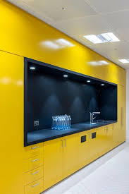 office kitchen design. AECCafe.com - ArchShowcase New Offices For Mako Group In London, England By. Yellow OfficeOffice KitchenetteKitchenette DesignPantry Office Kitchen Design