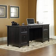 desk for office at home. Contemporary Desk Image Of Black Wood Home Office Desk In For At