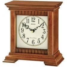 seiko dual chime wooden mantel clock qxr303b