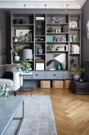 Wall Units, Living Room Storage Unit Living Room Storage Cabinet With Doors  Impressive Dark Grey ...
