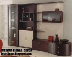 Small Picture modern TV wall unit design with shelves and cabinets TV wall