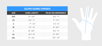 Dive Glove Size Chart Resources How To Measure Your Hands For Neoprene Gloves