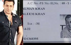 com Card Khan's Won't That Salman Viral Businessofcinema You - In Age Believe Voter This Going What Id Is Shocking