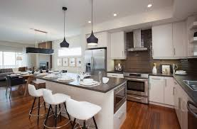 Awesome Mini Pendant Lights Kitchen Modern With Bar Pulls Black Pendant. Image By:  Sabal Homes