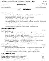 ... Forklift Resume 15 Operator Sample Httpexampleresumecv.orgforklift  Operator ...