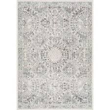 vintage minta grey 8 ft x 10 ft area rug
