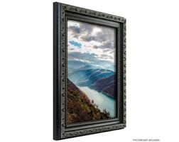 Black antique frame Etsy