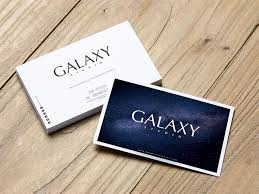 Free Download Galaxy Business Card Template Design Psd Business