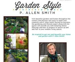 garden styles by p allen smith