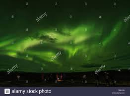 Northern Lights Iceland 2018 Northern Lights Iceland Golden Circle 2018 Stock Photo