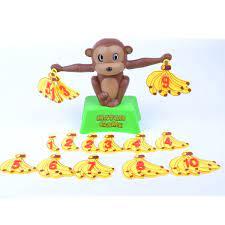 Cân cân bằng khỉ học toán Monkey Match Game