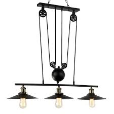 journee lighting. Journee Home \u0026#x27;Alexandrine\u0026#x27; Pulley Hard Wired Island Pendant Light Lighting I
