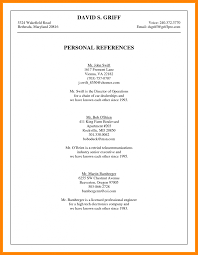 Fascinating Job Resume References Format About Reference List How