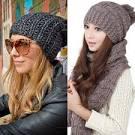 Вязаные шапки модные этой зимой