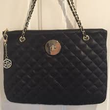 DKNY Black Leather Soft Quilted Nappa Zip Shoulder Bag - Tradesy &  Adamdwight.com