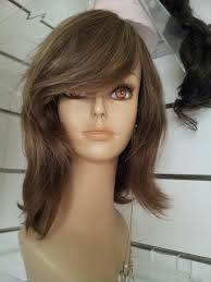 Light Brown Shoulder Length Wig Shoulder Length Natural Wig