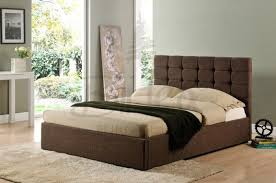 double bed size uk mm. birlea isabella 4ft6 double brown upholstered bed frame size uk mm t