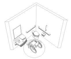 Bradley Accessible Toilet Room Revit Model Advocate Lavatory download pre built revit accessible toilet room sample model on plumbing job sheet template