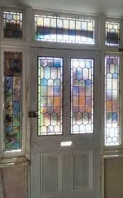 e25 edwardian stained glass
