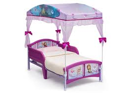 Frozen Toddler Canopy Bed – Delta Children