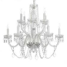 crystal chandeliers lighting the home depot for at ideas 13