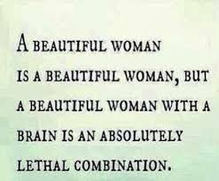 Beautiful Lady Quotes Best of Beauty Brains And Beyond Quotes Quotes Design Ideas