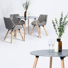 Easy Meuble Table Scandinave Pour Cuisine Salle à Manger Rookie Round