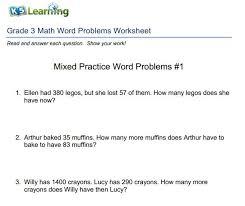 math word problems gr 3