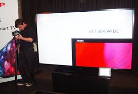 sharp 90 inch 4k tv. sharp 90-inch led hits stores 90 inch 4k tv c