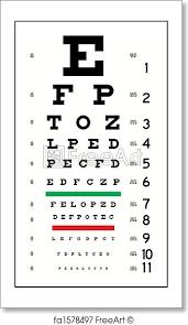 Free Art Print Of Eye Chart