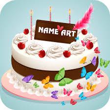 Download Name Art On Birthday Cake Focus Filter Maker App On Pc