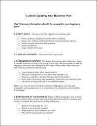 Free Business Plan Templates Word Sample Business Plan Template Word One Page Business Plan Template
