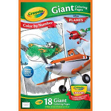 Buy Crayola Giant Coloring Pages Planes 18 Count In Cheap Price On