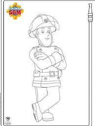 Small Picture Fireman Sam Print and Colour ABC KIDS