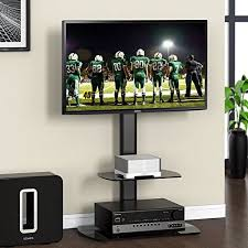 vizio tv stand. fitueyes universal floor tv stand base with swivel mount and 2 shelves for 32 to 50 vizio tv