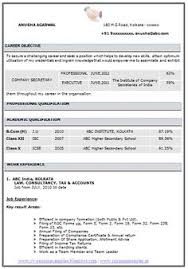 Awesome One Page Resume Sample For Freshers   Career   Pinterest ...