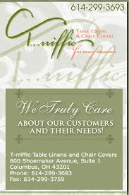 table linens, party rentals, chair covers, t rriffic table linens Affordable Wedding Invitations Columbus Ohio table linens, party rentals, chair covers, t rriffic table linens and chair covers, columbus, oh Wedding Cakes Columbus Ohio