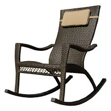 tortuga outdoor tuscan lorne wicker rocker