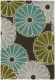 thomas paul rugs parasols chocolate aqua green rug thomas paul rugs