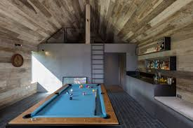 Wooden Games Room Ström models annex for Hampshire home on rustic boutique hotel 96
