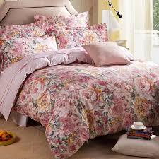 romantic luxury fl lavender duvet covers queen size