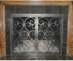iron fireplace screen. Install Your New Custom Iron Fireplace Screen Or Door At A Competitive And Reasonable Price. We Don\u0027t Leave The Job Until You Are 100% Satisfied. S