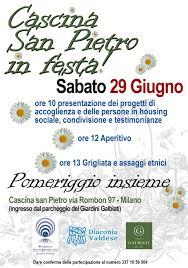 CASCINA SAN PIETRO IN FESTA - 29 giugno 2019 - Fondazione Isacchi Samaja  Onlus