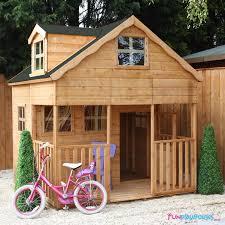 7 x 7 windsor primrose playhouse with dormer window