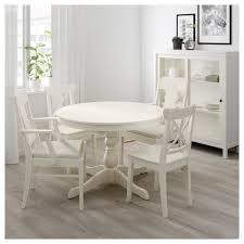 Ingatorp Ingolf Tisch Und 4 Stühle Weiß Nordvalla Beige In 2019