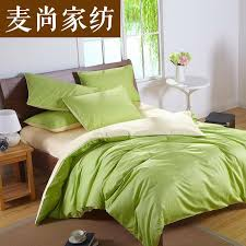 custom solid color bedding set green 50 silk satin bedding sets king size comforter sets queen full twin size ed cover bed in a bag blue and white